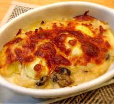 ホワイトソースから作ってます 自家製ソースはやっぱり美味しいです - 3件のもぐもぐ - ポテトグラタン by ryotamom