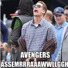 The Avengers – Chris Evans – Captain America – Steve Rogers Marvel Dc, Disney Marvel, The Avengers, Avengers Memes, Marvel Jokes, Marvel Funny, Avengers Imagines, Bucky Barnes, Best Avenger