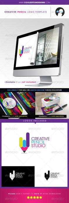 Creative Pencil - Logo Template   $29