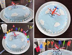 Happy Birthday am Flughafen