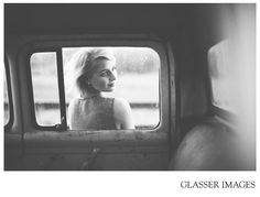 Really cool shot through window of old truck... Glasser Images