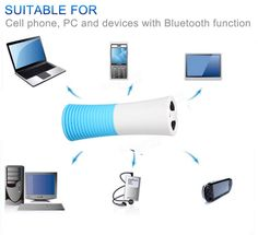 Universal Waterproof Bluetooth Portable Speaker 4000mAh Power Bank Outdoor Sport Applicable for Smartphones