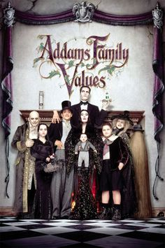 Addams Family Values - Review: Addams Family Values (1993) is a 1h 34-min American dark fantasy comedy film that is the… #Movies #Movie