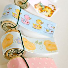 Make your own washi/craft tape with this tutorial. Includes free downloadable designs to print.