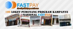 100 Outlet pemenang program kampanye nasional Fastpay https://www.facebook.com/fastpaypartner