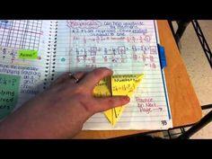 Interactive Notebook Update- Middle School Math for-my-new-job-as-a-ms-math-teacher Math Teacher, Math Classroom, Teaching Math, Teacher Stuff, Classroom Ideas, Interactive Student Notebooks, Math Notebooks, Math Notes, Math School