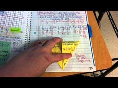 Interactive Notebook Update- Middle School Math