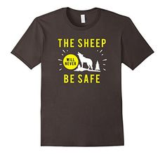 The Sheep Will Never Be Safe Shirt Wolf Costume BW1