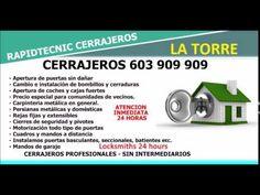 CERRAJEROS LA TORRE VALENCIA 603 909 909
