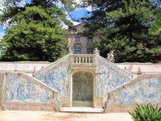 Azulejos, Palácio do Marques de Pombal, Sebastião José de Carvalho e Melo, 1º. Ministro no reinado de Dom José I, em Oeiras, Lisboa, Portugal
