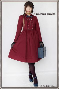 Victorian Maiden - Sailor Collar Glaukopis OP