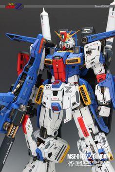 1/60 MSZ-010 ZZ Gundam - Painted Build     Modeled by jjhangel777