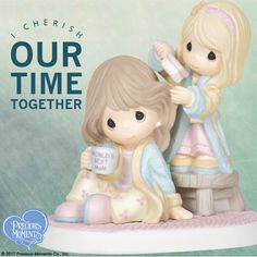 Not enough time? Great gifts for Mom are easy to find in our adorable selection of mother/daughter Precious Moments figurines! #PreciousMoments #LifesPreciousMoments #WorldsBestMom