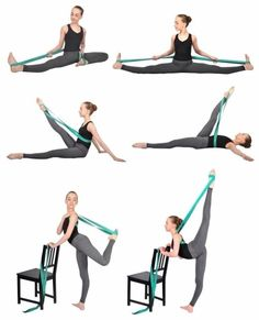 Ballet Stretch Bands Resistance Superior strap band Foot Loop Dance Gymnastics Training Highligths: Ballet Stretch Band Leg Stretcher Bands for Dancers Leg Stretching Exercise Home Gy Fitness Workouts, Sport Fitness, Yoga Fitness, Health Fitness, Yoga Gurt, Ballet Stretches, Yoga Pilates, Gymnastics Workout, Yoga Strap