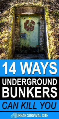 Is building a doomsday bunker a good idea? In this article, we'll go over the pros and cons of building an underground bunker in your backyard. Urban Survival, Homestead Survival, Survival Food, Camping Survival, Survival Prepping, Survival Skills, Disaster Preparedness, College Survival, Survival Stuff