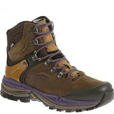 64074 Merrell Women's Crestbound GTX Hiking Boots - Brown www.bootbay.com