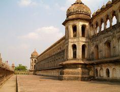 the Bara Imambara in Lucknow, India. Visit India, Madhya Pradesh, West Bengal, India Travel, Incredible India, World Heritage Sites, Reflection, Cities, Paradise