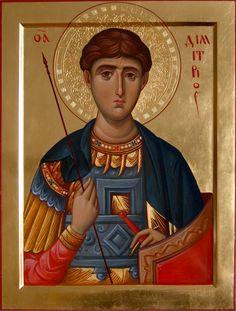 Painting by ikona-skiniya (Belarus) Greek Icons, Church Icon, Russian Icons, Byzantine Art, Catholic Saints, Medieval Art, Sacred Art, Christian Art, Religious Art