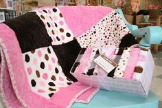 Minky Quilt... So cute!!!