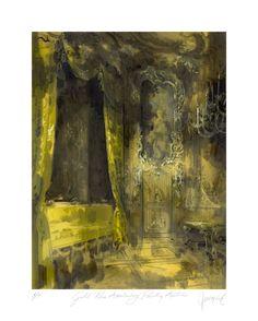 The Amalienburg Pavillion Gold Room by Jeremiah