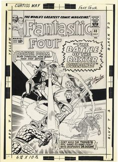Fantastic Four, Issue 40, Cover
