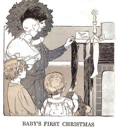 Baby's First Christmas by katinthecupboard, via Flickr