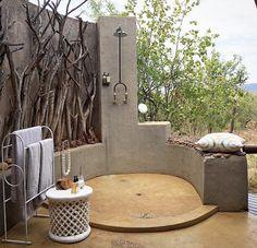 Banheiro ao ar livre