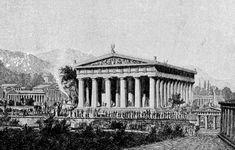 Olympia-ZeusTempelRestoration - Temple of Zeus, Olympia - Wikipedia, the free encyclopedia