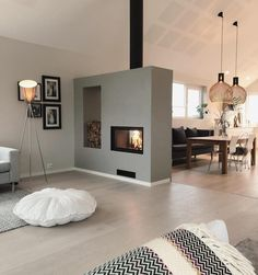 Love this 🔥 Cre - Raumteiler ideen- Love this Cre Love this Cre The post Love this Cre appeared first on Raumteiler ideen. Love this Cre Love this Cre The post Love this Cre appeared first on Raumteiler ideen. Living Room With Fireplace, Home Living Room, Living Room Decor, Fireplace Kitchen, Modern Interior, Modern Decor, Interior Design, Interior Concept, Color Interior