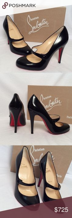Christian Louboutin Charleen 100 Pumps ✨NWB✨ Christian Louboutin Charleen 100 Leather Pumps Color Black Heel: 100mm Size EUR 38 All of my items are 100% Authentic ! Includes box and dust cover Christian Louboutin Shoes Heels
