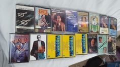 Lot of 16 Cassette Tapes Swing Polka Country Blues Hawaiian Mills Brothers