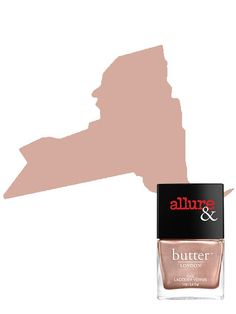 NEW YORK Butter London x Allure Nail Lacquer in I'm on the List