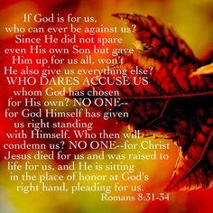 Romans 8:31-34