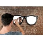 Make sure youre always Looking Good by checking your reflection in this spec-tacular sunglasses mirror.