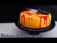 KillBill Fondant Torte - Kill Bill Fondant Cake Tutorial - Halloween Fondant Torte - von Kuchenfee - YouTube