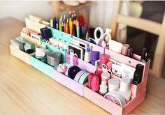 "Korean ""box in a box"" desktop organizer"