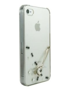 Clear Ant and Spoon for iPhone4/4S