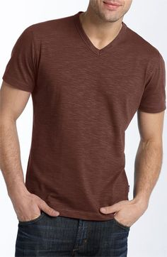 BOSS Black Eraldo Slim Fit V-Neck T-Shirt | I want this!