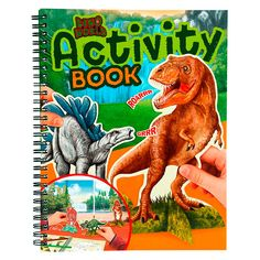 Dino World – Activity Book Herschel, Kind Mode, Book Activities, Disney, Owl, Comic Books, Baseball Cards, Comics, Cover