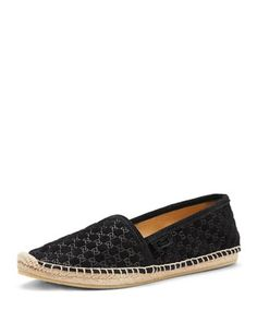 GG Suede Slip-On, Nero by Gucci at Neiman Marcus.