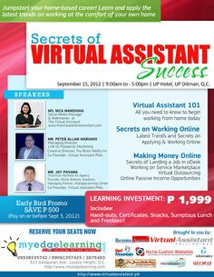 Secrets of Virtual Assistant Success