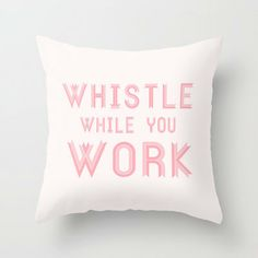 Throw Pillow, decorative pillow, kate spade inspired, pink, pillowcase, pillow cover, quote art, pink pillow, quote pillow, graphic pillow on Etsy, $23.26