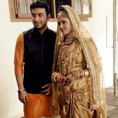 Kerala Muslim Bride And Groom
