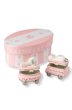 My first curl tooth personalized gift set babies baby keepsake mud pie first tooth curl treasure box set available at nordstrom negle Choice Image