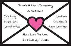A cute, non-aggressive, way to remind your guests to send those errant RSVPs | Offbeat Bride