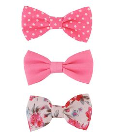 Bow Hair Clips! I'm so glad these are coming back! (Forever 21)