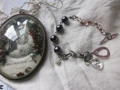 Wedding Bracelet Swarovski Clear Crystal Bead and by JoieLaVie, $45.00