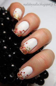 Mavala - Magic Spice, glitter nails, matte nails