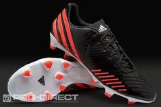adidas Football Boots - adidas Predator LZ TRX FG - Firm Ground - Black-Pop-Running White