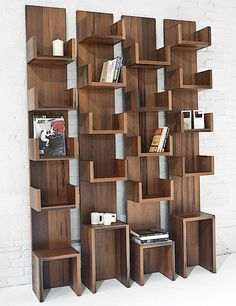Leaning Shelves by Deger Cengiz